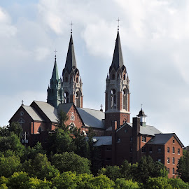 Holy Hill Basilica, Wisconsin by David La Haye - Buildings & Architecture Places of Worship ( wisconsin, ==, architecture, catholic church, basilica, holy hill )