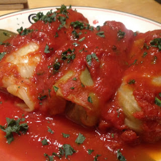 Vegan Holishkes (Stuffed Cabbage)