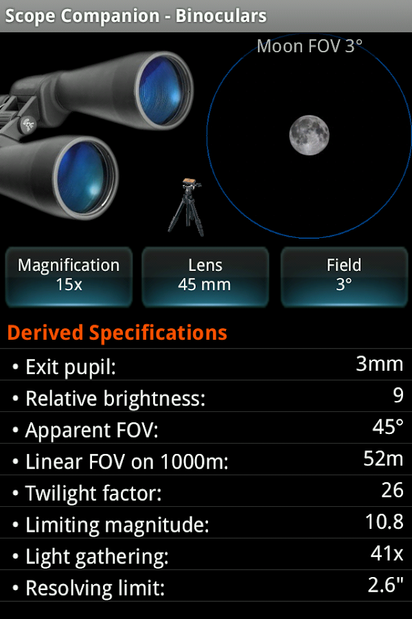 Scope Companion Screenshot 1