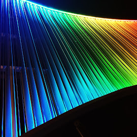 Rainbow by Yeva Zak - Abstract Light Painting ( light  colors. colours. rainbow. abstract )