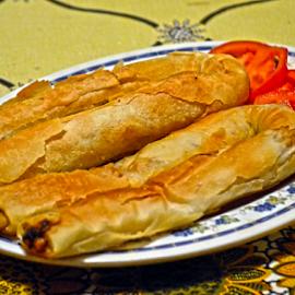 Pita do pite, pitica by Mario Denić - Food & Drink Plated Food ( tomato, food, burek, potato, pie )