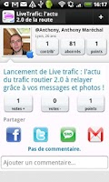 Screenshot of Live Trafic