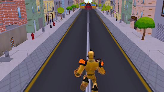 Robot Run 3D - screenshot