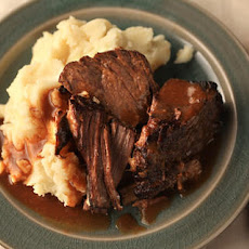 Garlicky Pot Roast Recipe