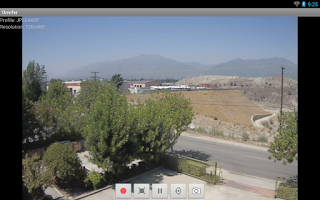 Screenshot of ONVIF IP Camera viewer/explore