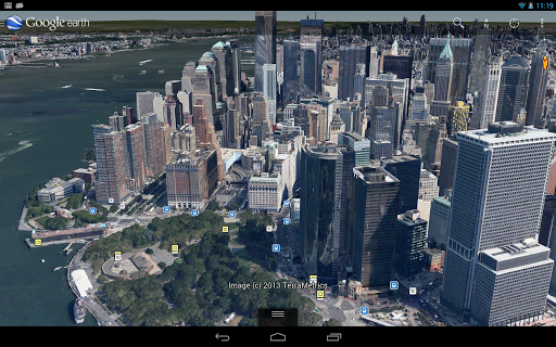 google-earth for android screenshot