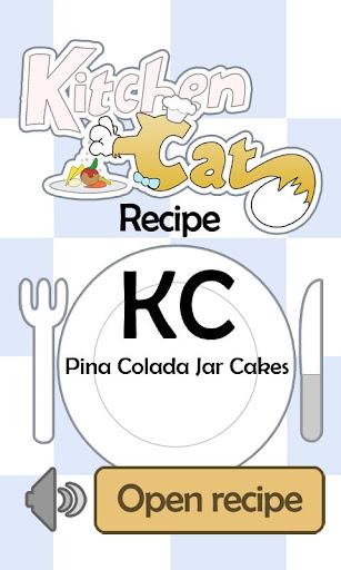 KC Pina Colada Jar Cakes