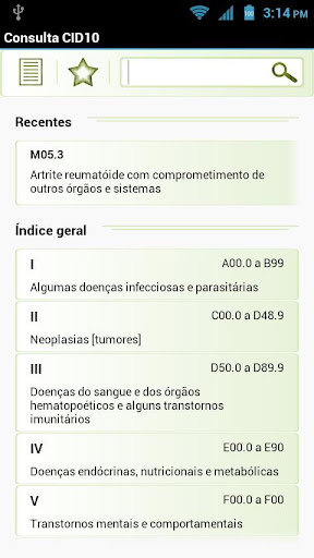 Consulta CID10 Pro
