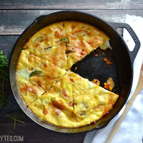 Zucchini and Corn Frittata
