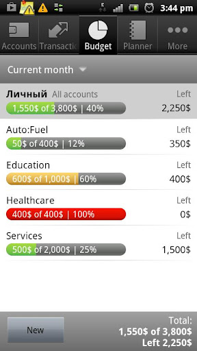 Cash Organizer - screenshot