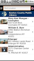 Screenshot of Kenton County Public Library