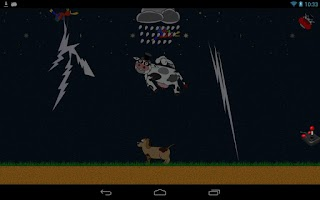 Screenshot of Shaking Head, Flying Cow