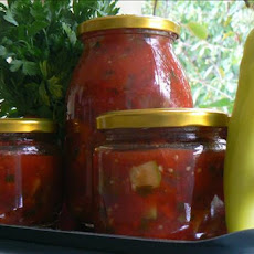 Canned Chunky Tomato and Vegetable Sauce
