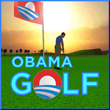 Obama Golf Around The World