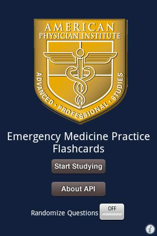 Emergency Medicine Flashcards
