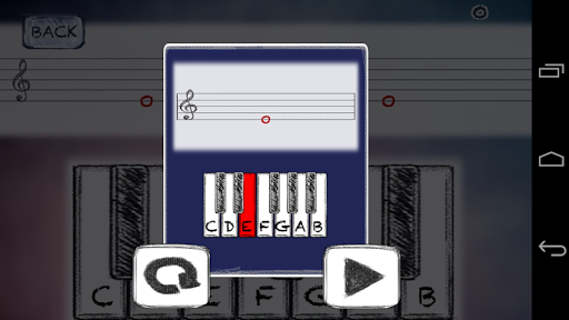 MusicNotes SightReing Master - screenshot