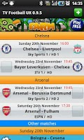 Screenshot of TV Football UK