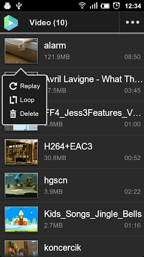 vplayer-codec-armv7 for android screenshot