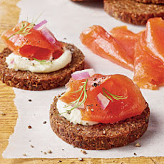 Brown Sugar-and-Dill-Cured Salmon