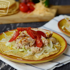 Shredded Pork Tostadas