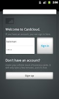 Screenshot of Cardcloud