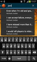 Screenshot of Basketball Quotes