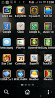 Screenshot of Past - Ace Launcher Theme