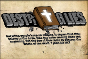 Screenshot of Bible Memory Challenge