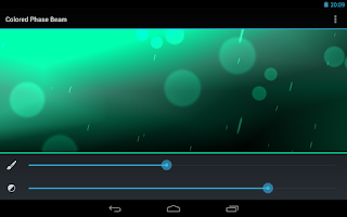 Screenshot of Color Beam - Live Wallpaper