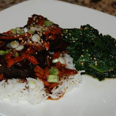 Korean Style Short Ribs (Crock Pot)