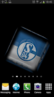 Screenshot of Ball 3D FC Schalke 04 LWP