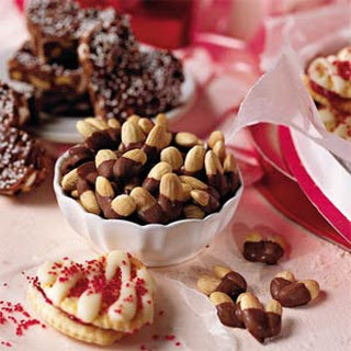 Chocolate-Almond Hearts
