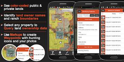 Screenshot of HUNT App: Hunting GPS Map Free