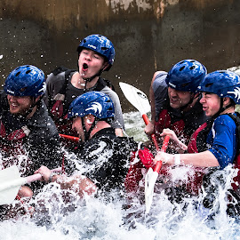 Going for a Ride by Mike Watts - Sports & Fitness Watersports ( water, rafting )