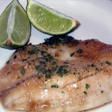 Catfish Fillets in Ginger Sauce