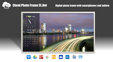 Screenshot of Cloud PhotoFrame EX.Net