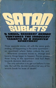 Satan Sublets Rear