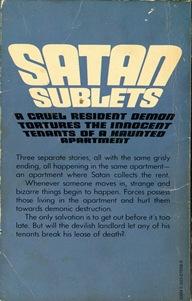 Satan Sublets Rear