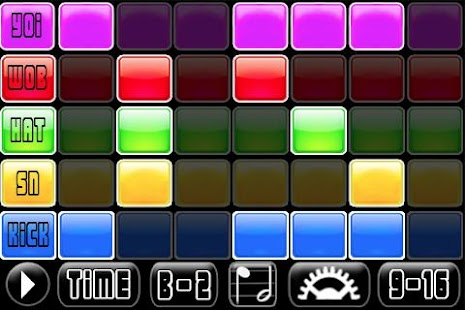 Dubstep Jam Music Sequencer - screenshot