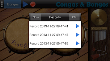 Screenshot of Congas & Bongos