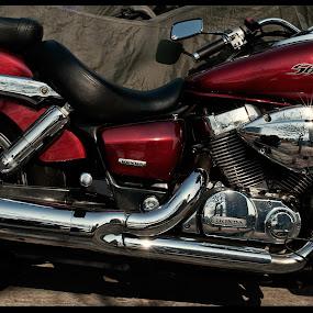 SHiny SHadow by Daniel Legendarymagic - Transportation Motorcycles ( 香港, dcp, honda, bike, hongkong, motor, street, candid, tinshuiwai, digicore, legendarymagic, 天水圍 )