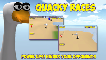 Screenshot of Quacky Races