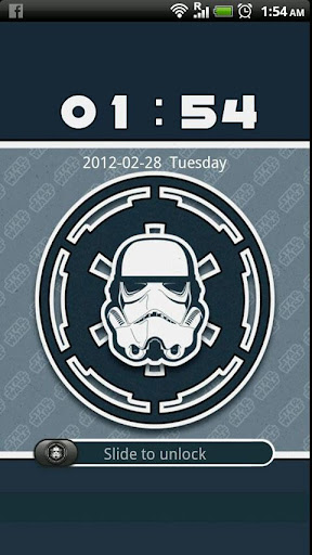 GO Locker Stormtrooper Theme