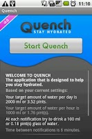 Screenshot of Quench Beta