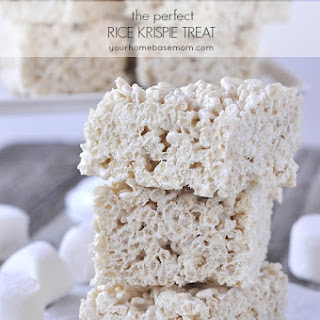 The Perfect Rice Krispie Treat