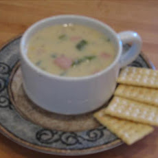 Southwestern Corn and Red Pepper Chowder