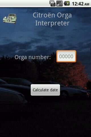 Citroen Orga Interpreter