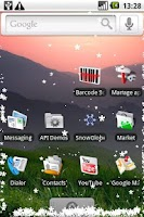 Screenshot of SnowGlobe