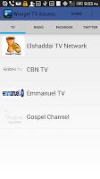 Screenshot of Wongel Live TV Access