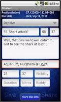 Screenshot of DiveNet